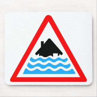 Severe Flood Warning Mouse Pad