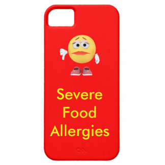 Severe Food Allergies Phone case iPhone 5 Covers