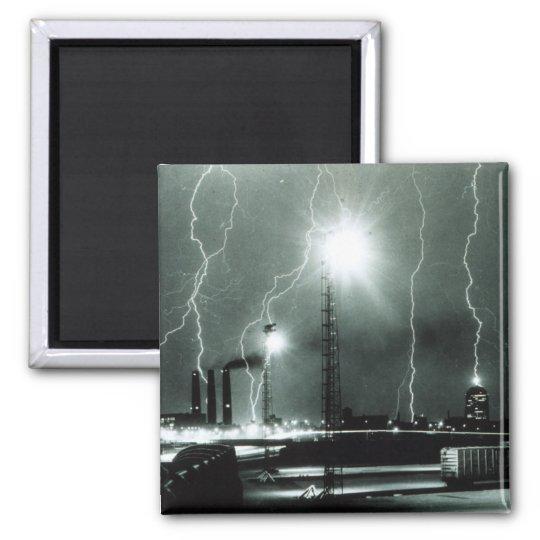 Severe Lightning in Boston Magnet