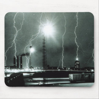 Severe Lightning in Boston Mouse Pad