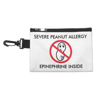 Severe Peanut Allergy Emergency Pouch Accessories Bags