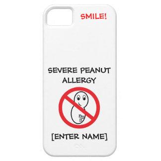 Severe Peanut Allergy iPhone Case iPhone 5 Covers