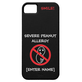 Severe Peanut Allergy iPhone Case