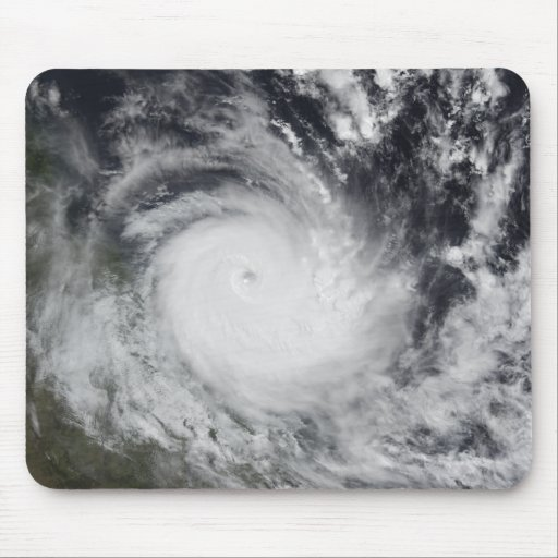 Severe Tropical Cyclone Hamish Mouse Pad
