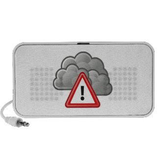 Severe Weather Alert Speaker System