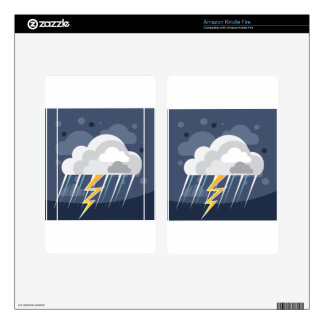 Severe Weather Storm Icon Kindle Fire Skins