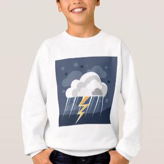 Severe Weather Storm Icon Sweatshirt
