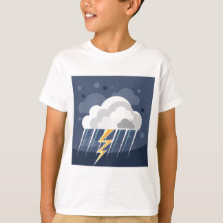 Severe Weather Storm Icon T-Shirt