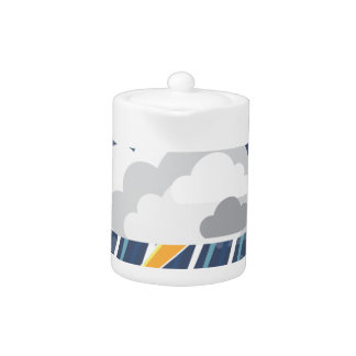 Severe Weather Storm Icon Teapot
