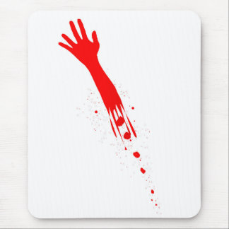 Severed Arm Mouse Pad