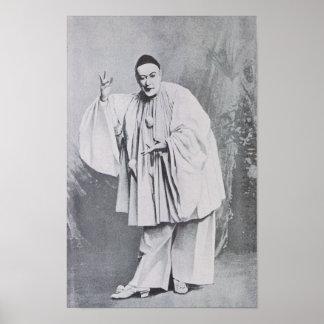 Severin as Pierrot Poster