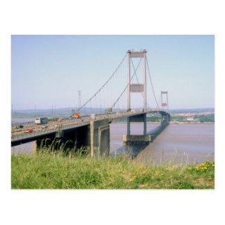 Severn Bridge Postcard