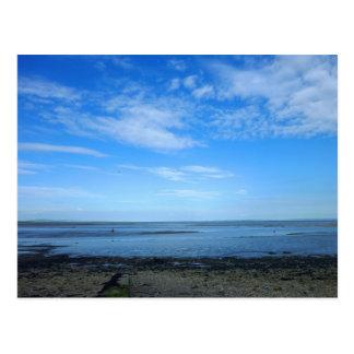 Severn Estuary at Penarth Postcard