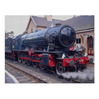 Severn Valley Railway, Locos at Highley Station, W Postcard