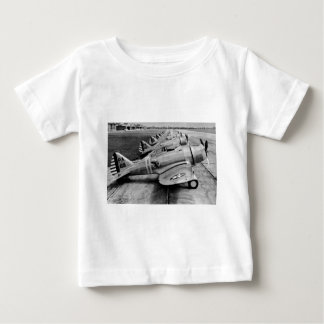 Seversky P-35 Vintage WWII Fighter Planes Baby T-Shirt