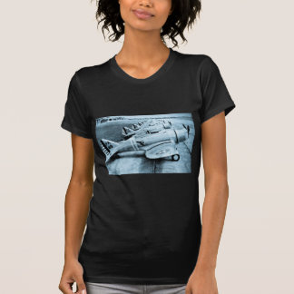 Seversky P-35 Vintage WWII Fighter Planes Tee Shirt
