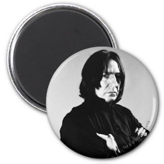 Severus Snape Arms Crossed 2 Inch Round Magnet