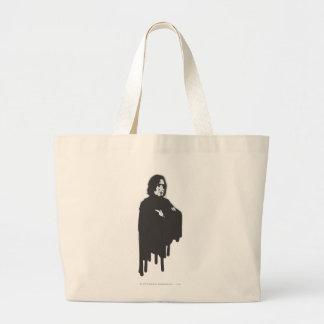 Severus Snape Arms Crossed B-W Canvas Bag
