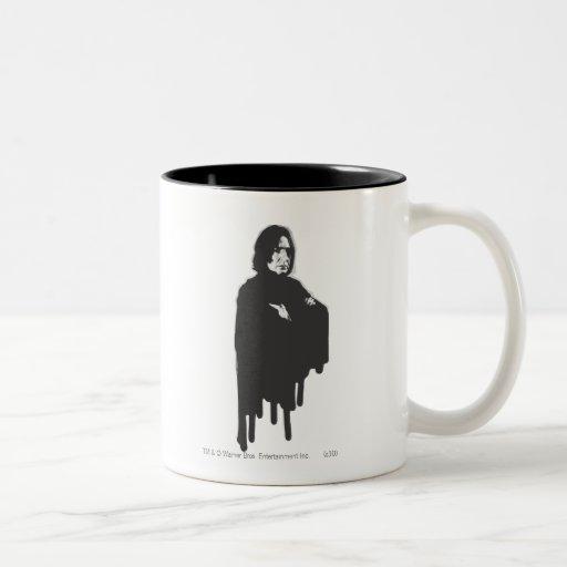 Severus Snape Arms Crossed B-W Coffee Mugs