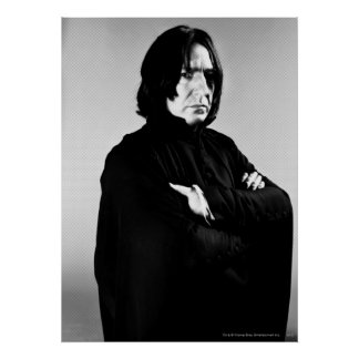 Severus Snape Arms Crossed Poster