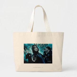 Severus Snape con los comedores 1 de la muerte Bolsa De Mano