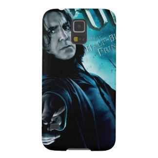 Severus Snape con los comedores 1 de la muerte Carcasas Para Galaxy S5
