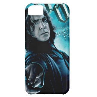 Severus Snape con los comedores 1 de la muerte Funda Para iPhone 5C