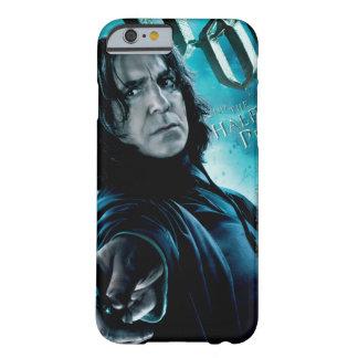 Severus Snape con los comedores 1 de la muerte Funda Para iPhone 6 Barely There
