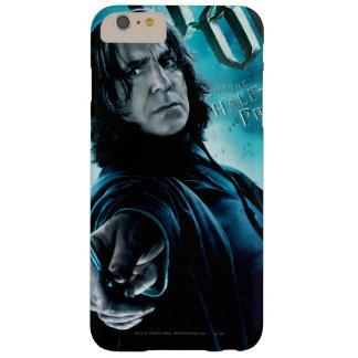 Severus Snape con los comedores 1 de la muerte Funda Para iPhone 6 Plus Barely There