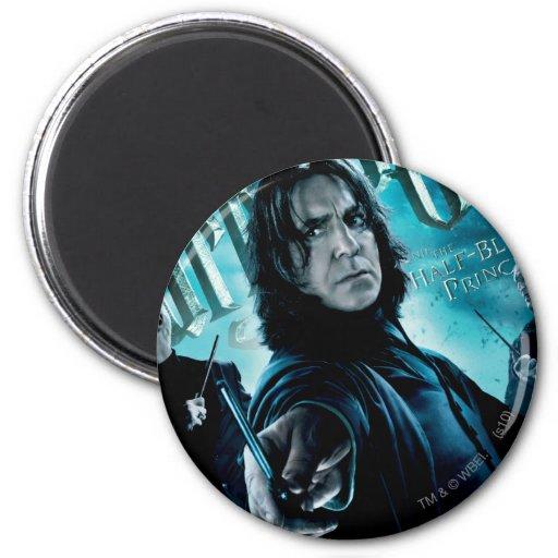 Severus Snape con los comedores 1 de la muerte Imán Redondo 5 Cm