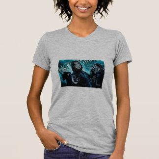 Severus Snape con los comedores 1 de la muerte Camisetas