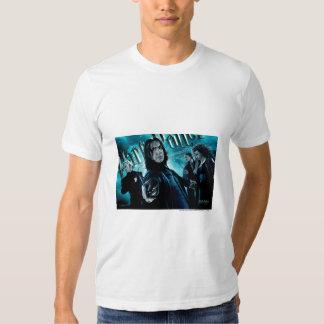 Severus Snape con los comedores 1 de la muerte Playeras