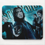 Severus Snape con los comedores 1 de la muerte Tapetes De Raton