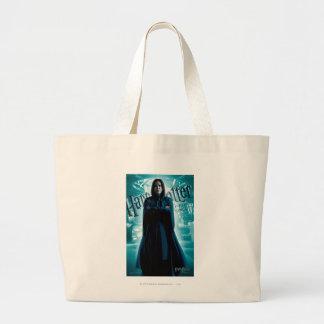 Severus Snape HPE6 1 Large Tote Bag