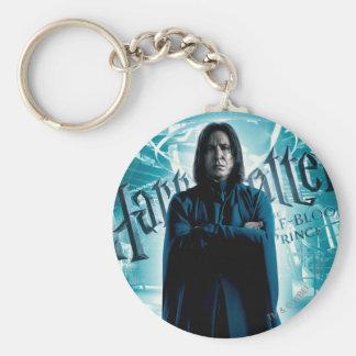 Severus Snape HPE6 1 Llavero Redondo Tipo Pin