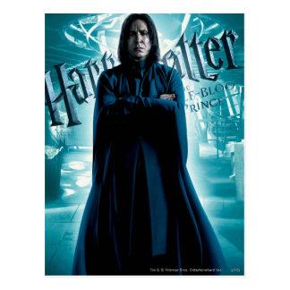 Severus Snape HPE6 1 Tarjeta Postal