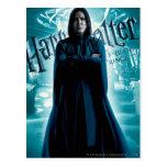 Severus Snape HPE6 1 Tarjetas Postales