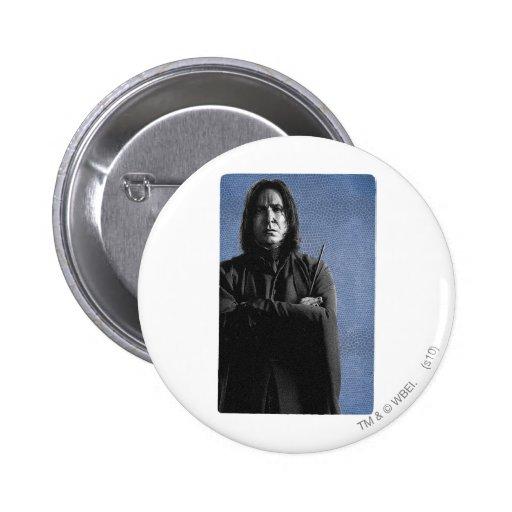 Severus Snape Pinback Button