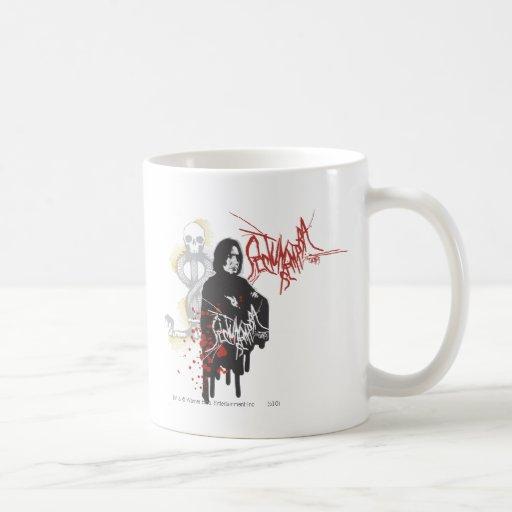 Severus Snape Sectum Sempra Coffee Mugs