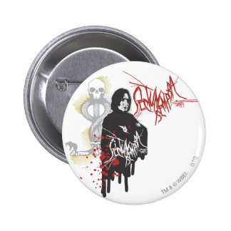 Severus Snape Sectum Sempra Pinback Button