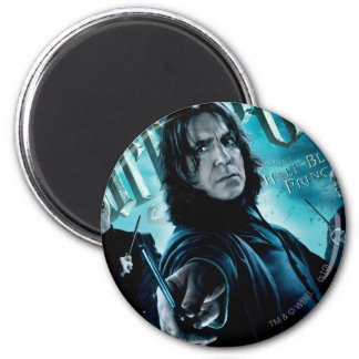 Severus Snape With Death Eaters 1 2 Inch Round Magnet