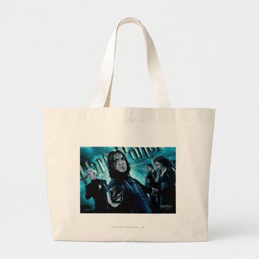 Severus Snape With Death Eaters 1 Jumbo Tote Bag