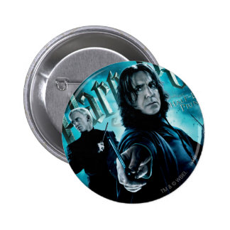 Severus Snape With Death Eaters 1 Pinback Button