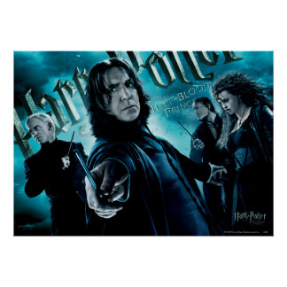 Severus Snape With Death Eaters 1 Poster