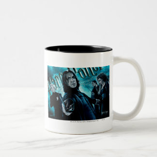 Severus Snape With Death Eaters 1 Two-Tone Coffee Mug