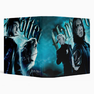 Severus Snape With Death Eaters Binders