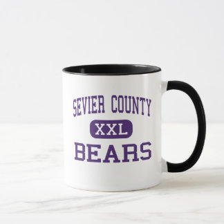 Sevier County - Bears - High - Sevierville Mug