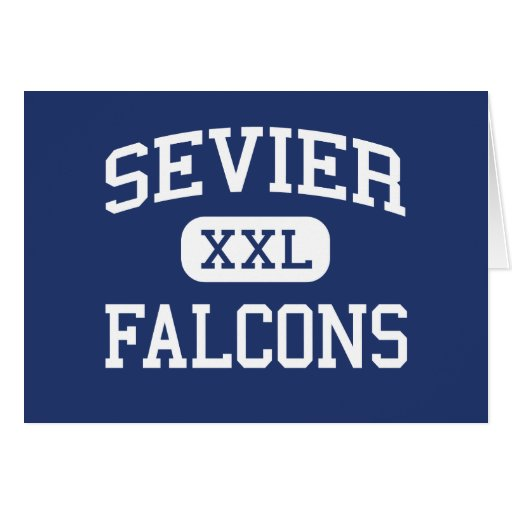 Sevier Falcons Middle Greenville Greeting Card