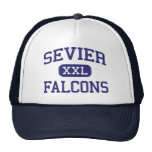 Sevier Falcons Middle Greenville Mesh Hat
