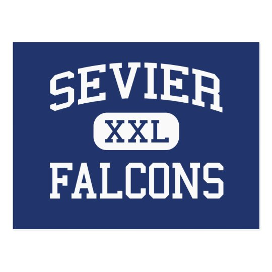 Sevier Falcons Middle Greenville Postcard